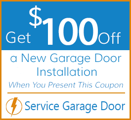 Get $100 Off a New Garage Door Installation